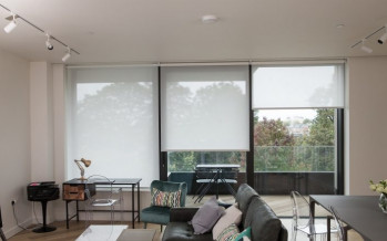 Before & After in the stylish TV Centre flat