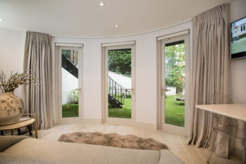 Finishing touches to a West London home