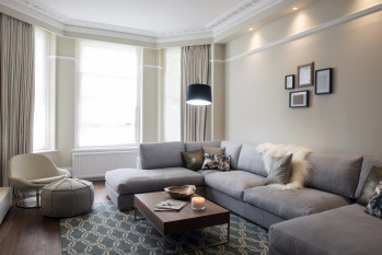London Projects – Made to Measure Curtains W14 Mansion flat in Holland Park