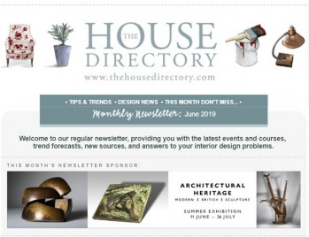 Prêt à Vivre makes Design News in The House Directory June 2019 newsletter