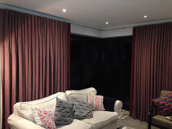 Curtains for large patio windows – How to Best Dress Wide Glazed Areas