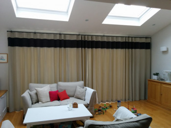Curtains for Bifold Doors London SW15