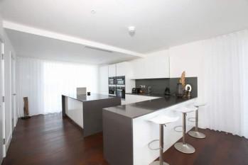 Contemporary Interior Design Fulham SW6 – BoConcept & Prêt à Vivre furnish a penthouse apartment in Fulham Riverside