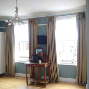Made to Measure Curtains North London with Anais, our random dyed yarn