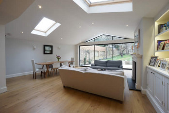Electric roller blinds for bifold doors, Richmond London