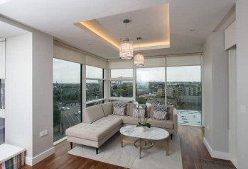 Blinds for Contemporary Apartments – Battersea Reach, Wandsworth, London SW18